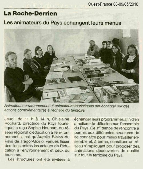 Article Ouest-France 11.05.2010